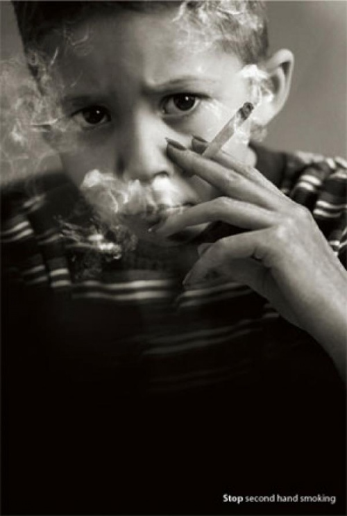 smoking kids