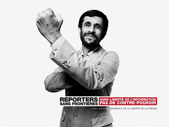 Reporters without Borders-Caddafi