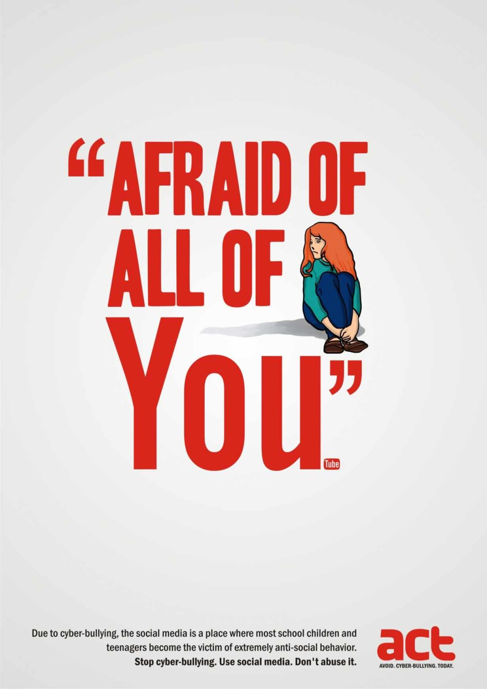 (Afraid of all of You(tube))