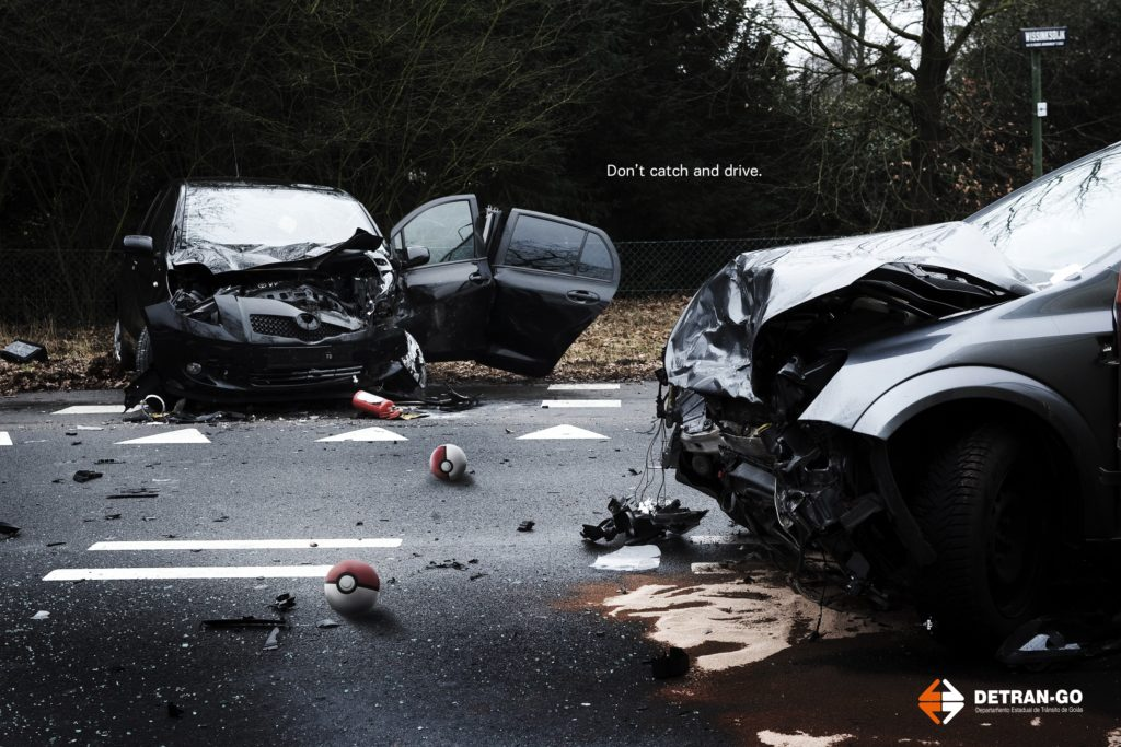 «Don't catch and drive»